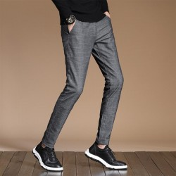 Men's casual slim fit Pencil pants