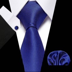 Jacquard Woven 100% Silk Men Solid Tie Dots Neck Ties Mens